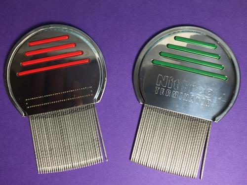 The recommended head lice comb - The Nit Terminator Comb