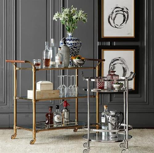 Elegant Bar Storage
