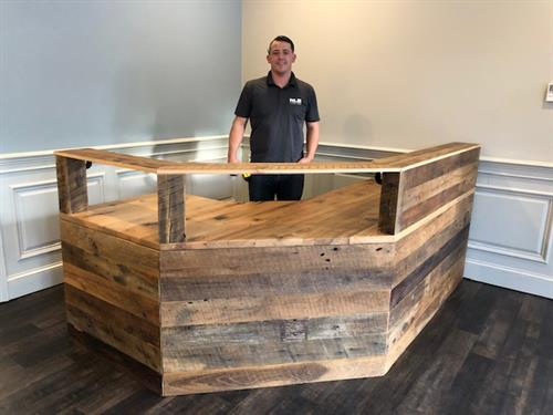 GA Balfour Reception Desk COmplete