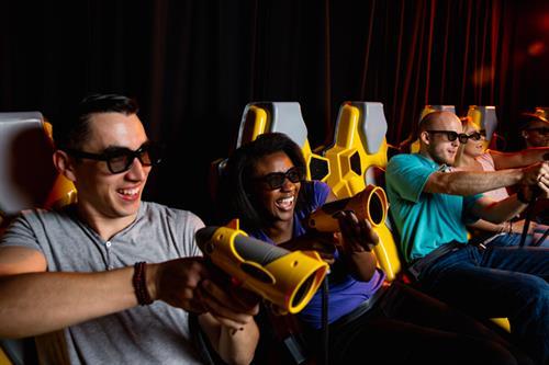 Dark Ride Interactive Motion Theater