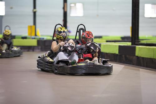 Double Seater Karting on Track 1