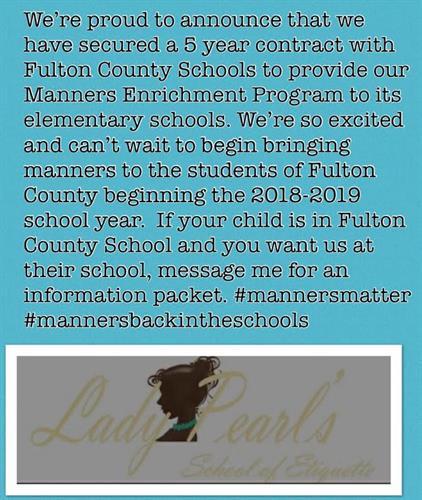 Approved Fulton County Schools enrichment Vendor