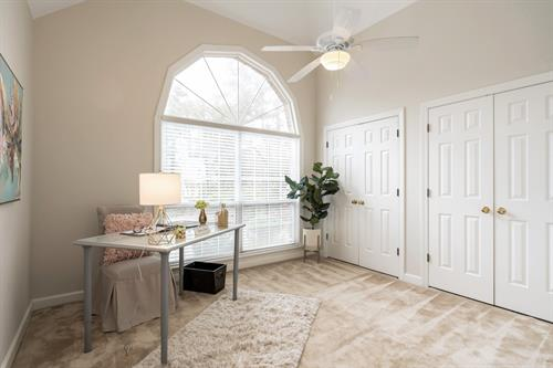 Stage A Bedroom as an Office- Home Offices Are a Must in Today's Market.