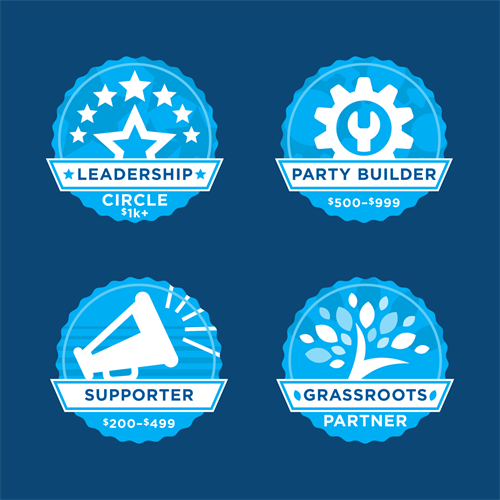 Achievement Badges for Social Media