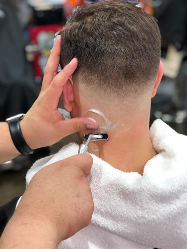 Back of Neck Shave