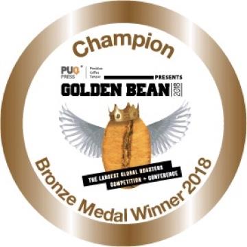 Bronze Medal Golden Bean Award for Rwandan Coffee