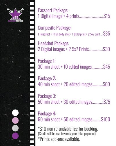 Photography services