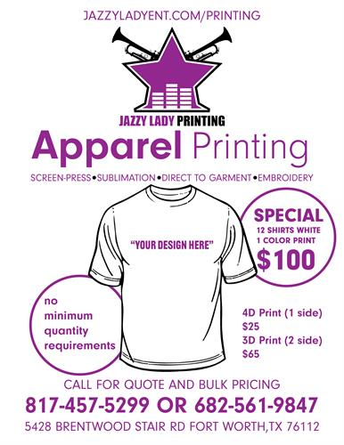 T-SHIRT SPECIAL
