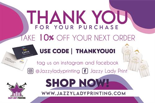 ENJOY 10% OFF WITH FLYER