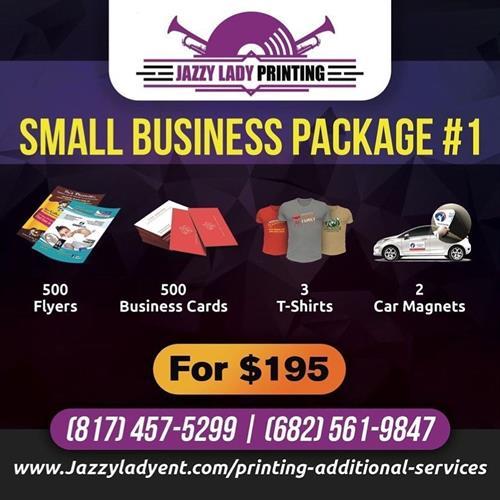SMALL BUSINESS PKG #1
