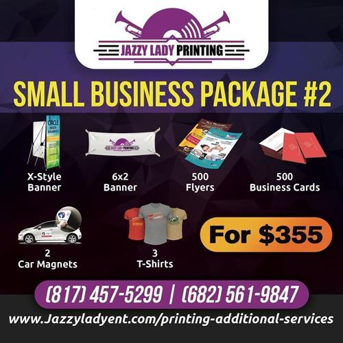 SMALL BUSINESS PKG #2