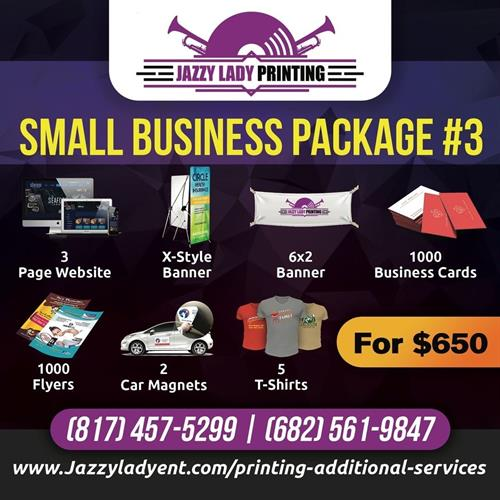 SMALL BUSINESS PKG #3