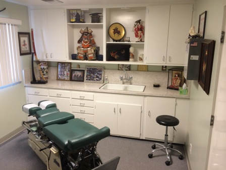 Treatment Room for Santa Maria Chiropractor Dr. Ray Arensdorf