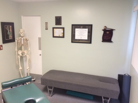 Treatment Room view 2 for Santa Maria Chiropractors