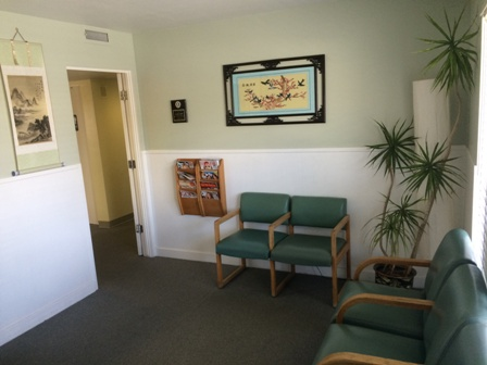 waiting room of Santa Maria Chiropractors