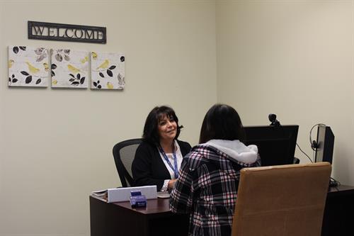 Liz Gutierrez, Student Services Advisor