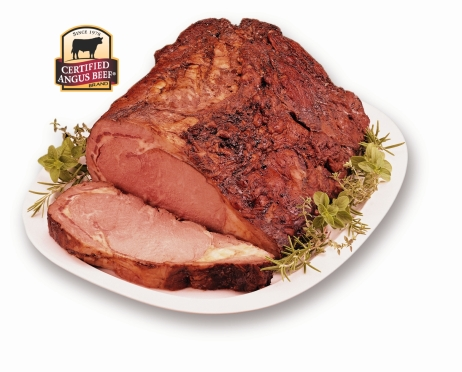 Certified Angus Beef Prime Rib.