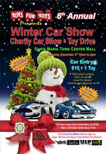 Toys For Tots Santa : Toys for tots toy drive car show dec  santa