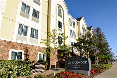 Enjoy Candlewood Suites Lending Locker, full of amenities, complimentary to our guests