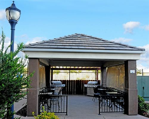 Enjoy the Santa Maria Valley sunshine with our guest BBQ gazebo