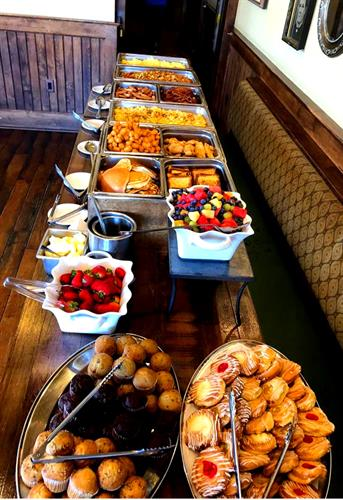 Sunday Brunch Buffet 10am - 2pm