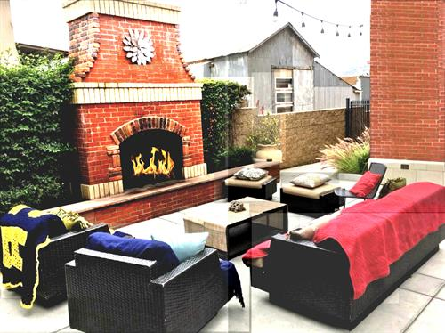 Relax in Our heated Beer Garden
