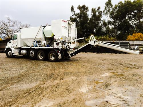 This is our Brand New 2016 Mobile Concrete Volumetric Truck