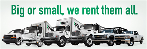 Big or small, we rent them all