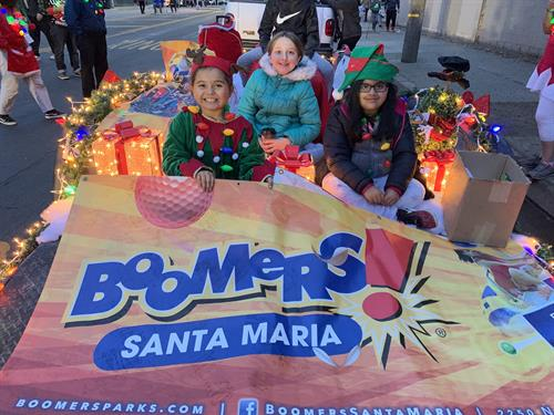 Boomers! Christmas parade 2019