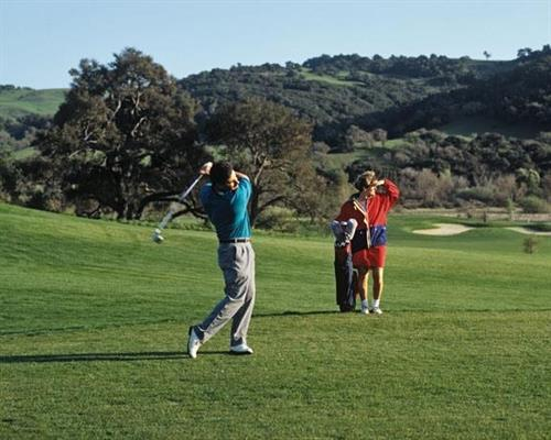 Nearby numerous Central Coast champtionship golf courses!
