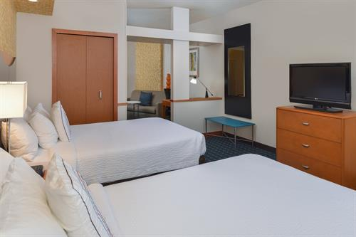 Rooms & suites offer complimentary access to your personal Hulu, Netflix and Pandora account