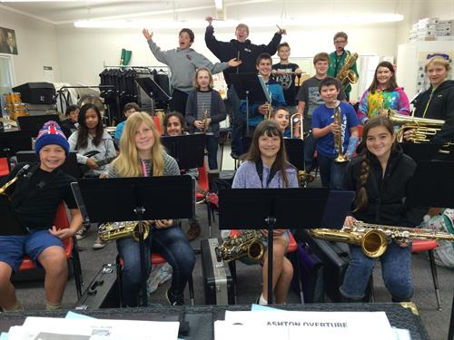 FUNDING INSTRUMENTS FOR OUR JUNIOR HIGH BAND