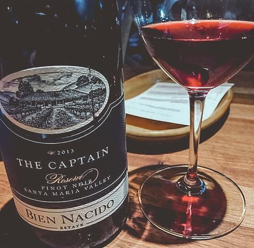 Bien Nacido The Captain Pinot Noir
