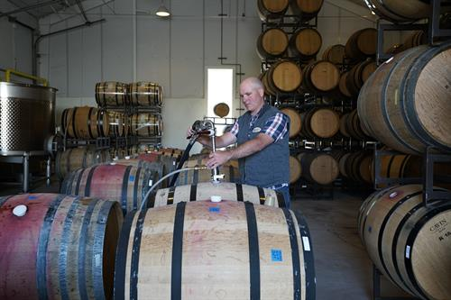 Anthony Avila, Winemaker of Bien Nacido & Solomon Hills Estate