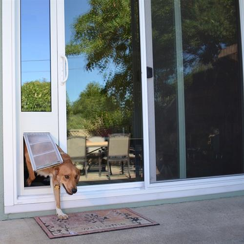 Thermo Panel 3e with Endura Flap for Sliding Glass Doors