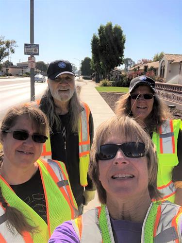 Participating in the Santa Maria Adopt-A-Road Program