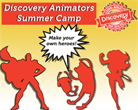 Discovery Animators! Illustration Summer Camp