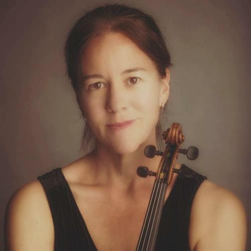 concertmaster, Mary Beth Woodruff