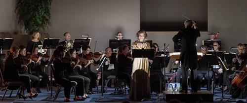 soprano soloist, Maria Jette, February 2019