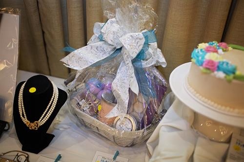 Gift Basket donated for the Teal Journey Ovarian Cancer Foundation