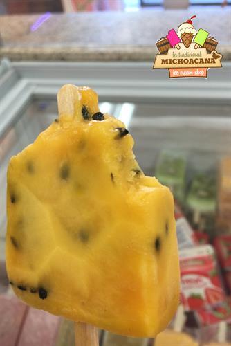Passion Fruit, Premium Ice Cream Bar