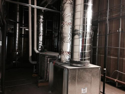 custom commercial ductwork