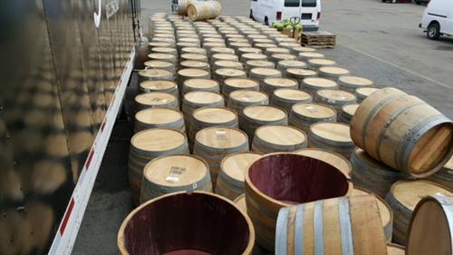 Half Wine Barrel Planters