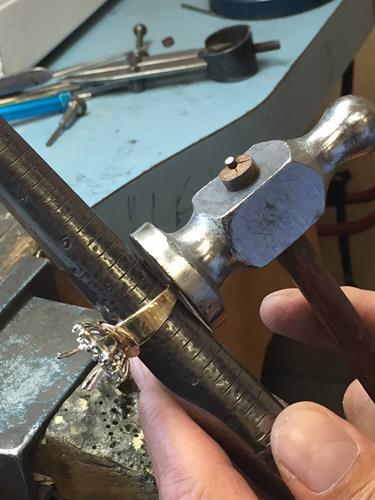 Jewelry repair.