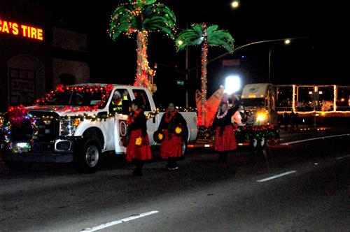 Christmas Float 2015