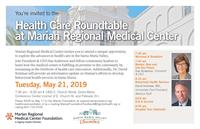 Health Care Roundtable at Marian Regional Medical Center