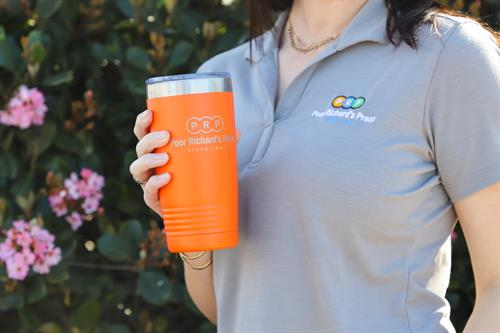 We offer customized apparel services along with a variety of opportunities to show off your business or brand.
