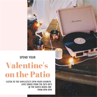 Valentine's on the Patio