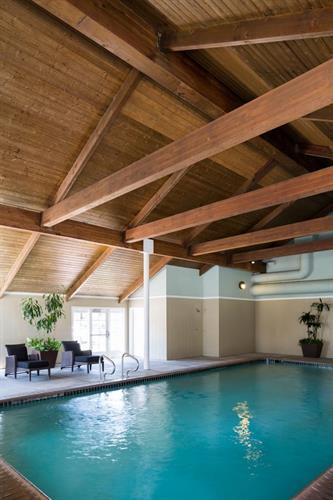 Heated Indoor Swimming Pool at Hadsten House in Solvang