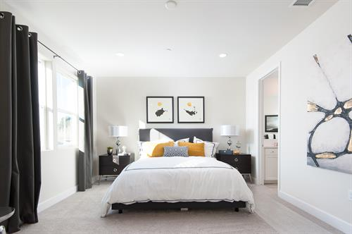Plan 2 - Master Bedroom